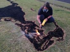 Burning Manus Island